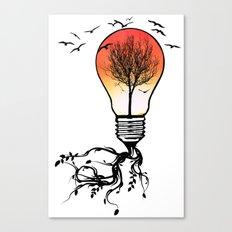 Life Light Canvas Print