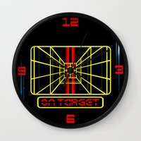 STAY ON TARGET... Wall Clock