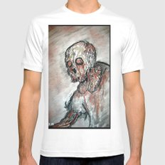 Twilight of the Dead White Mens Fitted Tee SMALL