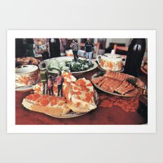 I Thought You Said We'd Meet Up At The Bread Basket? Art Print