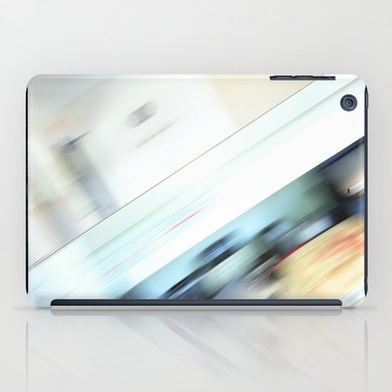 Life is a blight  in an office closed tight. iPad Case