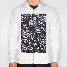painted paisley Hoody