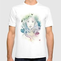 Aoki Mens Fitted Tee White SMALL