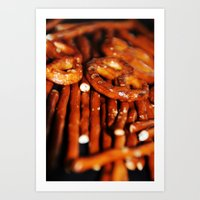 food Art Prints featuring FOOD by PIMPINELLA ART