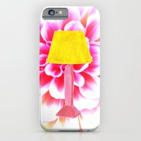 lamp shade flower illustration iPhone 6 Slim Case