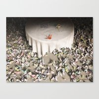 The Perfectionist Canvas Print