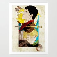 The King And His Sorcero… Art Print