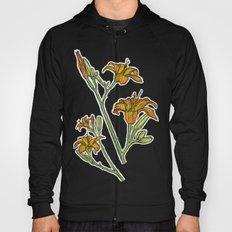 Orange lilies Hoody