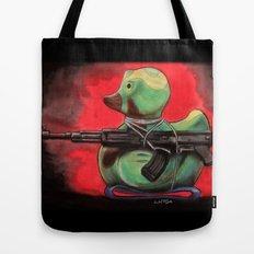 Camo Duck Tote Bag