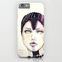iPhone & iPod Case featuring Fashion illustration  by Ioana Avram