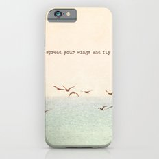 Spread your wings and fly iPhone 6s Slim Case