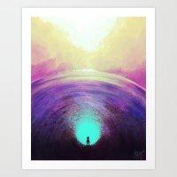 Seeking Solace Art Print