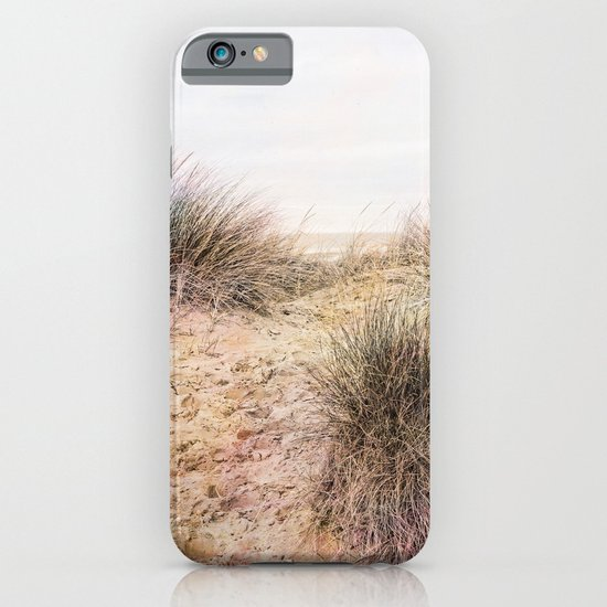 Footprints in the Sand. iPhone & iPod Case