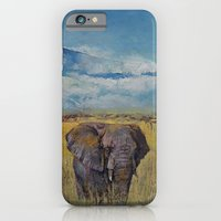 Elephant Savanna iPhone 6 Slim Case