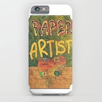 iPhone & iPod Case featuring Paper ARTIST by Li9z