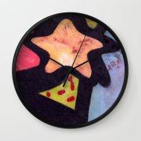 Skatepark Star  Wall Clock