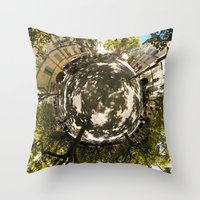 Worlds - Uzes Throw Pillow