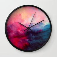 Wall Clock featuring Reassurance by Caleb Troy