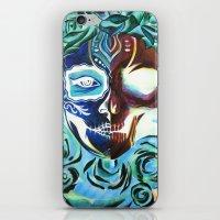 SkullFace iPhone & iPod Skin