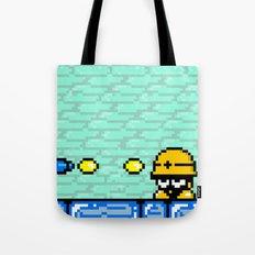 Minion's Last Rites: Mega Man's Metool Tote Bag