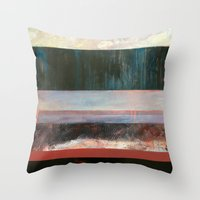 Chicago Winter Throw Pillow