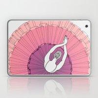Pink Ballerina Laptop & iPad Skin