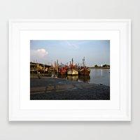 Abandoned Ships Framed Art Print