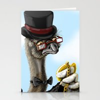 The Fancy Ostrich Stationery Cards
