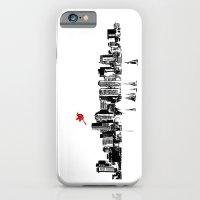 Boston Skyline Silhouette iPhone 6 Slim Case