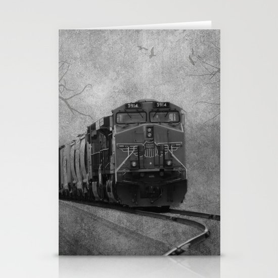 The Train Stationery Card