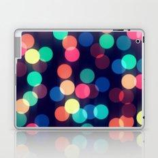 Round bokeh Laptop & iPad Skin
