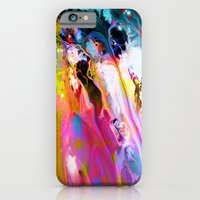 iPhone & iPod Case featuring Self-Conscious Sparks by Work the Angle