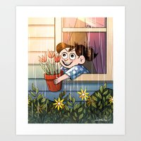 April Showers Bring May … Art Print