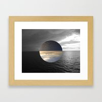 oceans Framed Art Print