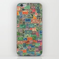 World Stamps iPhone & iPod Skin