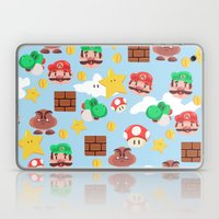 Super Mario Laptop & iPad Skin