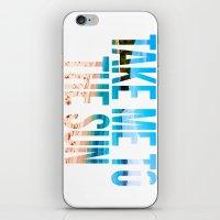 Take Me to the Sun 2 iPhone & iPod Skin
