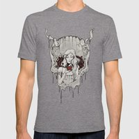 Poison Apple Mens Fitted Tee Tri-Grey SMALL