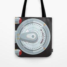Enterprise - Star Trek Tote Bag