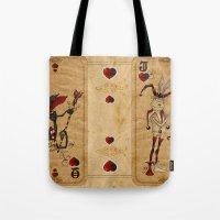 Oddity Playcards - Joker & Queen Tote Bag