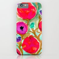 iPhone & iPod Case featuring Fiona Flower by Crystal ★ Walen