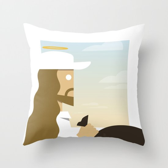 Part of the Deal Throw Pillow