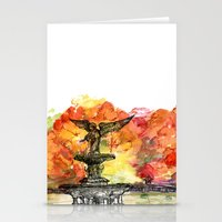 Central Park: Bethesda Fountain Stationery Cards