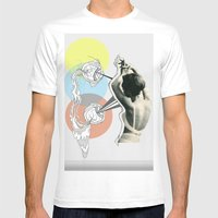 Fish Eye Mens Fitted Tee White SMALL