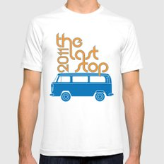 The Last Stop 2011 Mens Fitted Tee White SMALL