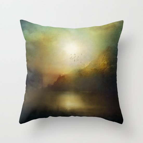 Poesia Throw Pillow