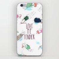 love me tender iPhone & iPod Skin