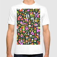 Schema 16 Mens Fitted Tee White SMALL