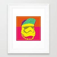 Fresh Trooper Framed Art Print