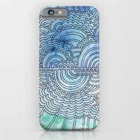 Water & Color Drawing Meditation iPhone 6 Slim Case